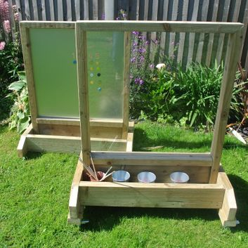 Outdoor Perspex Easel