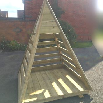 Playground Wooden Teepee