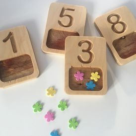 Number Trays 1-9
