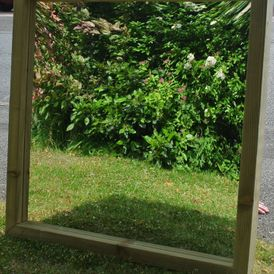 Framed Playground Mirror