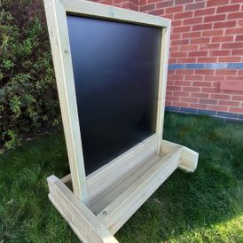 Double Sided HPL Chalkboard Easel -