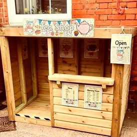 Wooden Role Play Shop