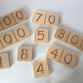 Wooden Place Value Set (1-999)