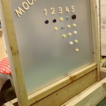 Outdoor Magnetic Board